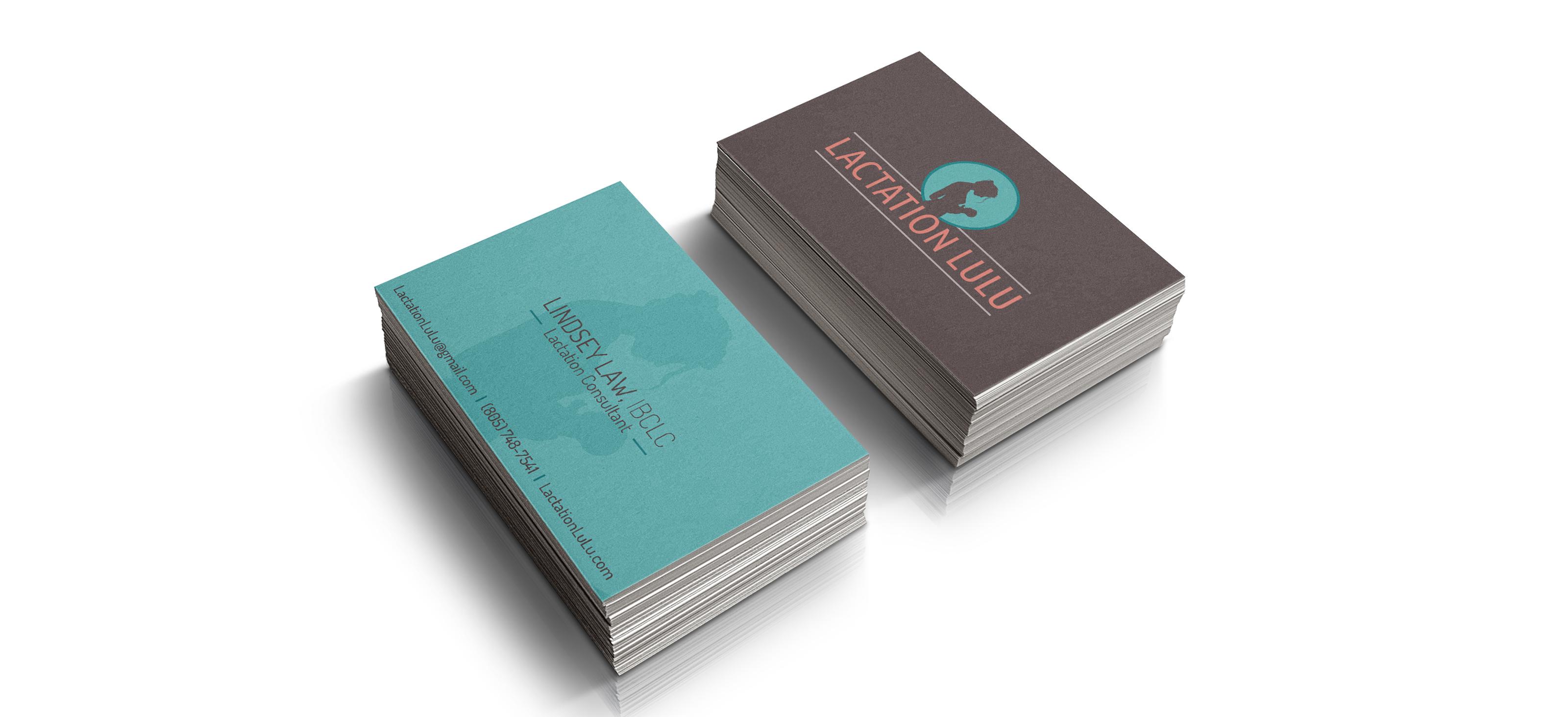 Lactation LuLu Business Cards