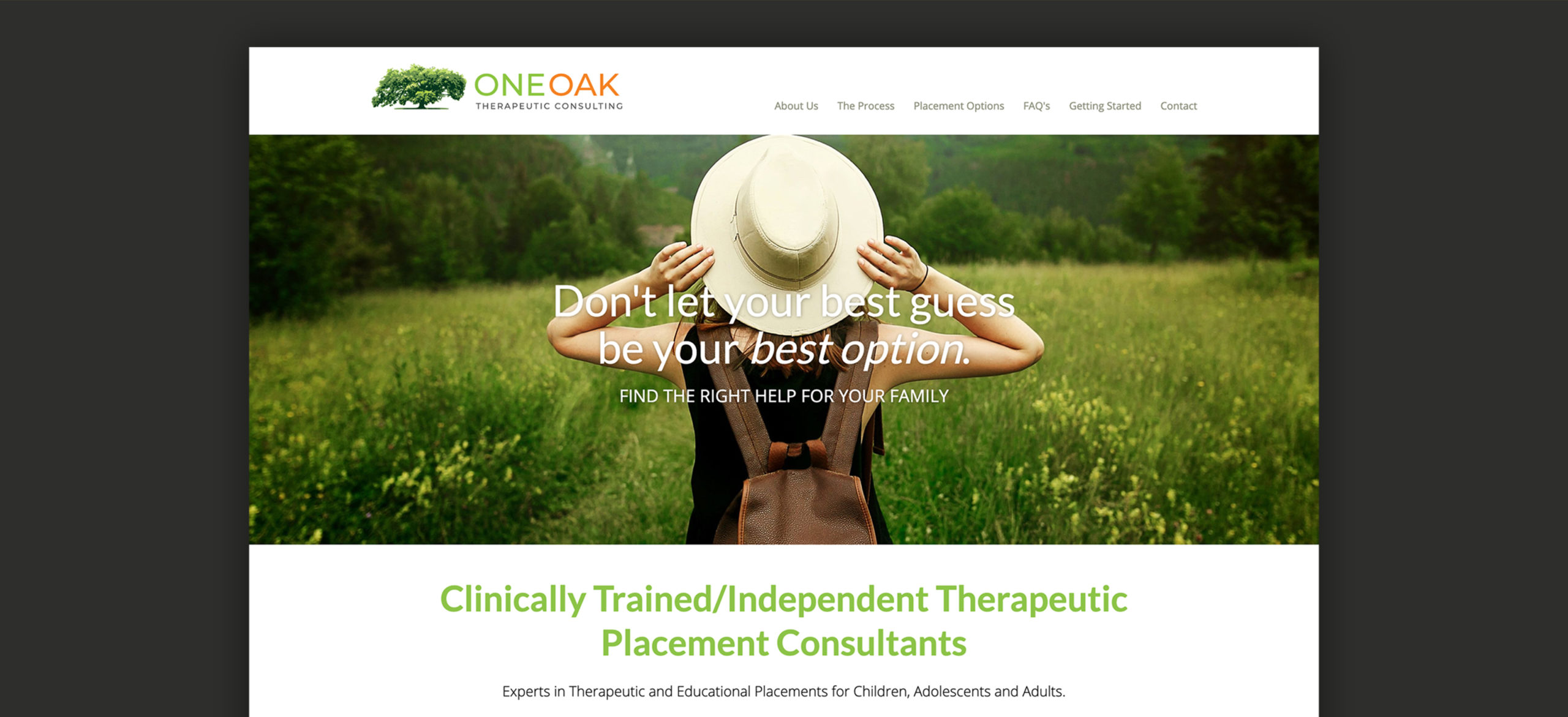 One-Oak Website