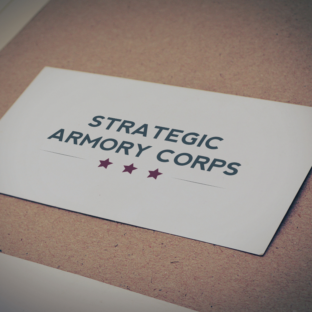Strategic Armory Corps logo