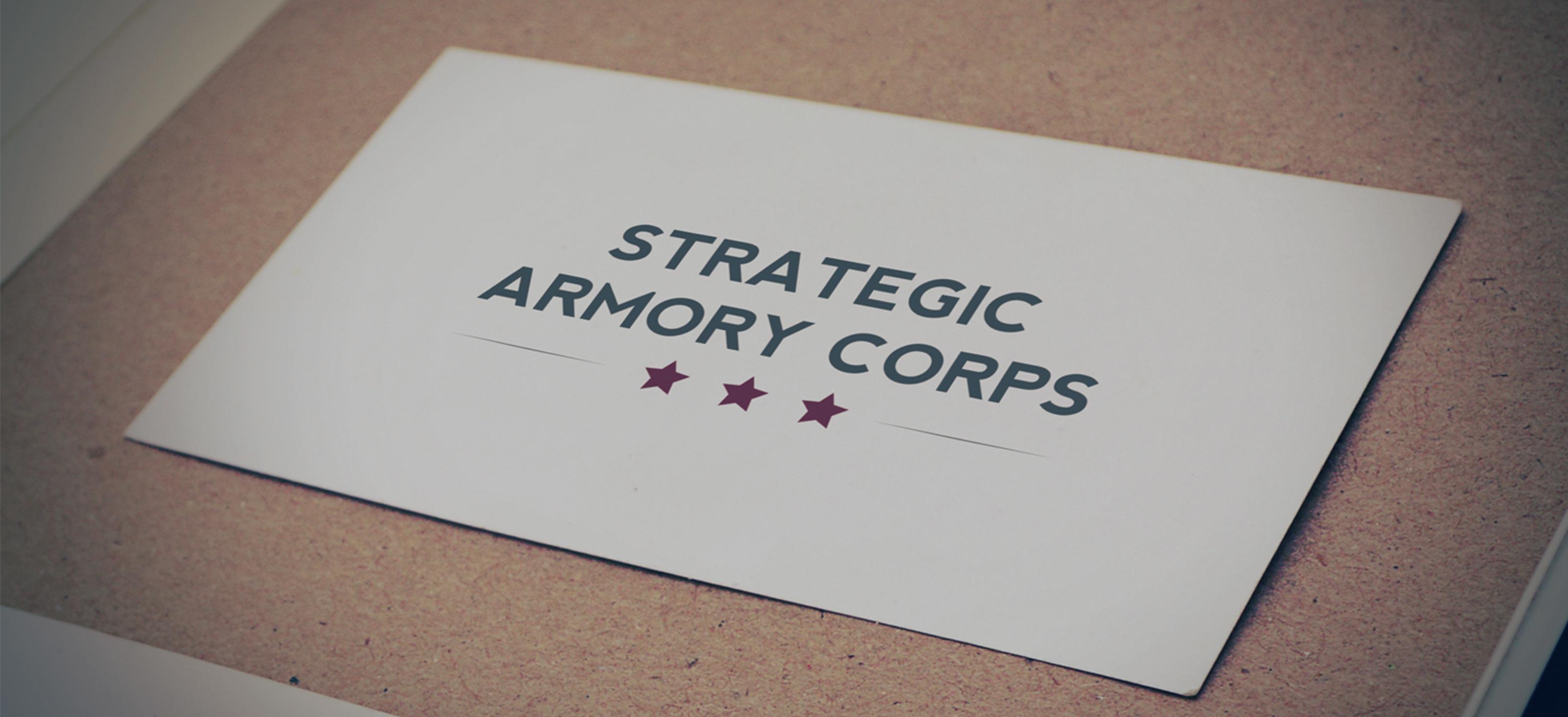Strategic Armory Corps logo