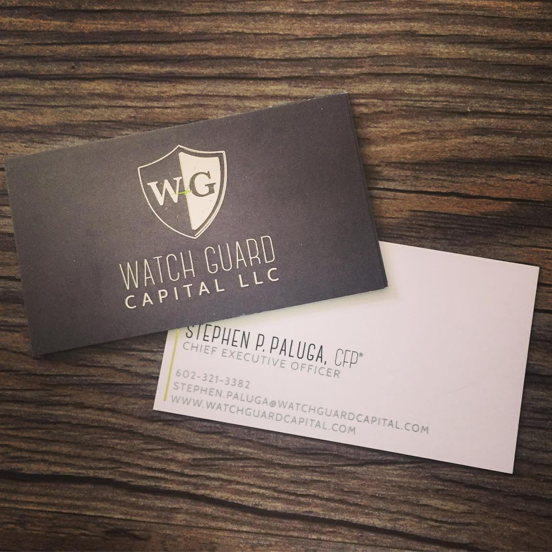 Watch Guard Capitol Business Cards