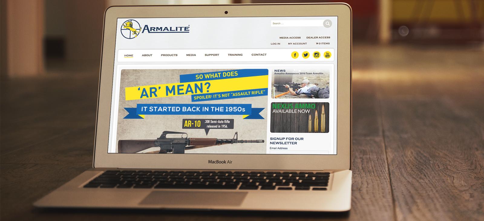 Armalite Website