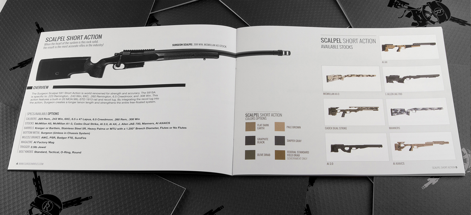 Surgeon Rifles Catalog