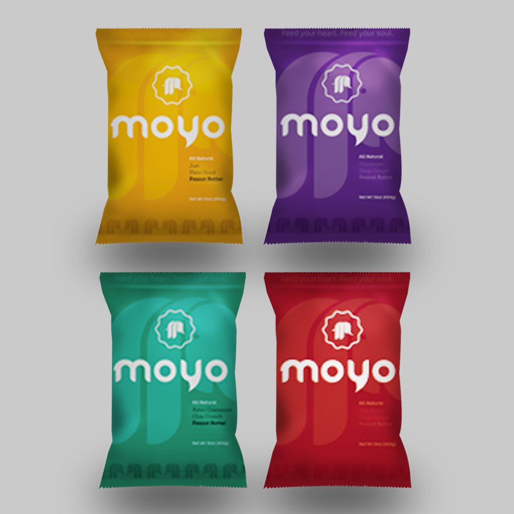 MOYO Peanut Butter Packaging