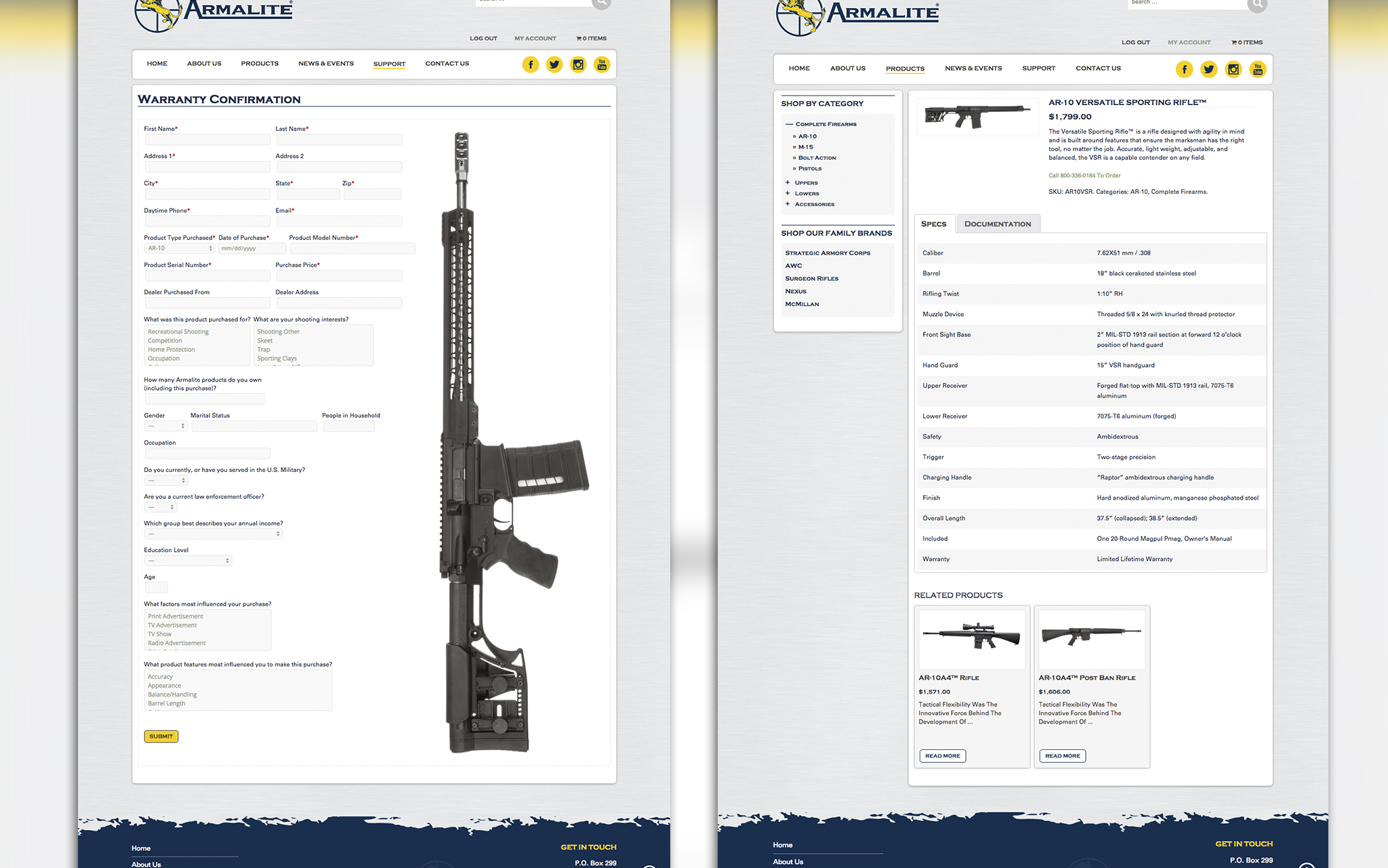 armalite pages