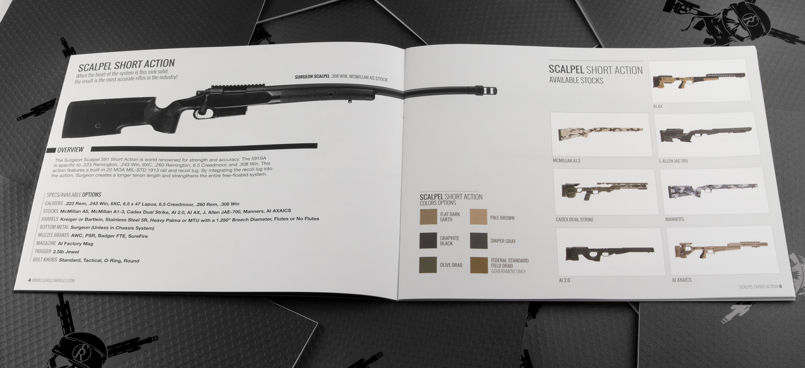 surgeon rifles 2015 inside