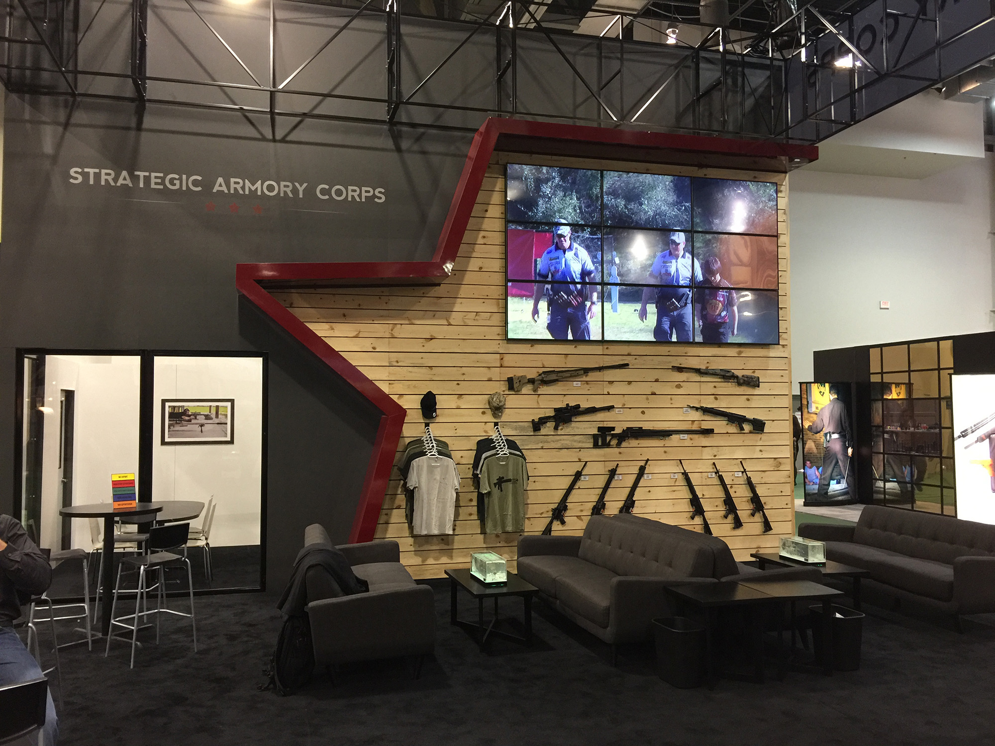 Strategic Armory Corps Tradebooth